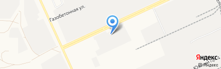 Лесник на карте Барнаула