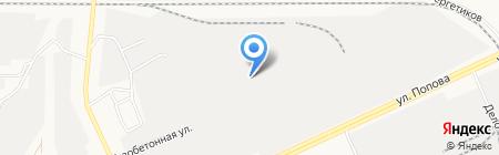 Мир лестниц на карте Барнаула
