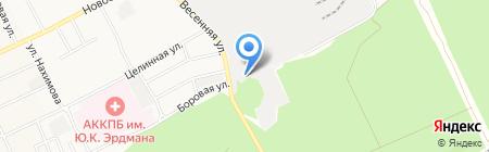 Виом-Логистик на карте Барнаула
