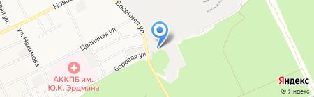 Эль-Трейд на карте Барнаула