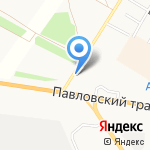 Промышленные технологии на карте Барнаула