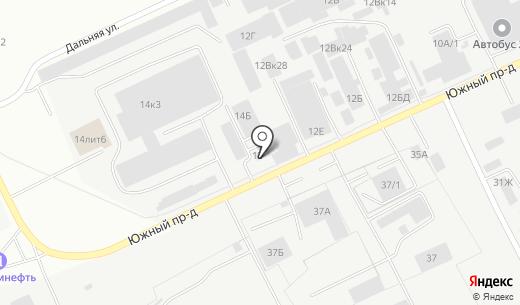 АлтайСпецЗапчасть. Схема проезда в Барнауле