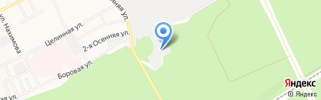 АлтайЗнак на карте Барнаула