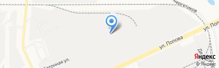 Алтай-Сервис на карте Барнаула