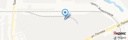 Торговая компания на карте Барнаула