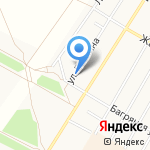 ТСК Алькасар на карте Барнаула