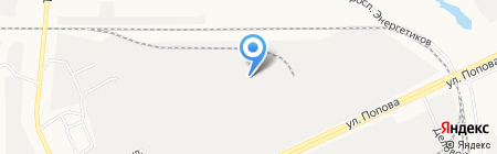Производственная фирма на карте Барнаула