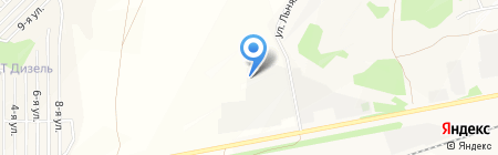 АЛТАЙ-ПЕНОПЛАСТ на карте Барнаула