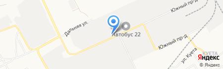 Агро-Сфера на карте Барнаула