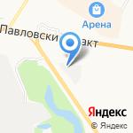 Топаз на карте Барнаула