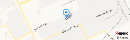 Металлсервис-Барнаул на карте Барнаула