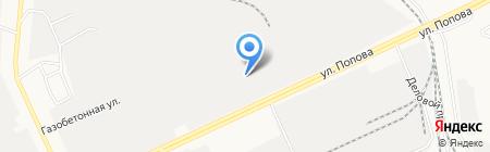 МетКом на карте Барнаула