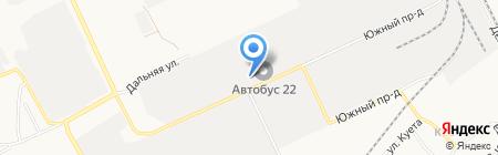 ГРАНД-СОЮЗ на карте Барнаула