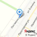 Служба заказа спецтехники на карте Барнаула