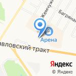 Арена Карт на карте Барнаула