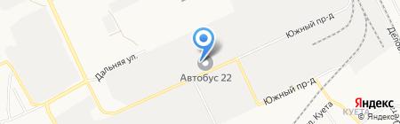 НОВОТЕХ на карте Барнаула