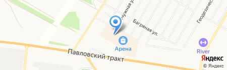 Студия флористики на карте Барнаула