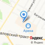 Юла на карте Барнаула