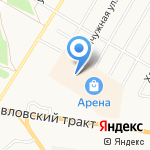 Shoes Market на карте Барнаула
