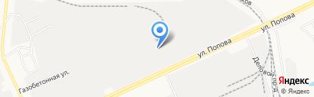 Кондитер на карте Барнаула