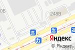 Схема проезда до компании Торговый ряд в Барнауле