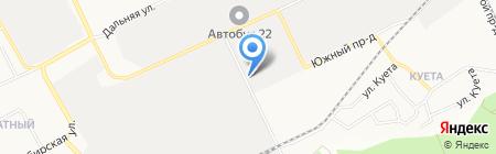 Сибметаллконструкция на карте Барнаула