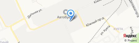 БАРНАУЛЬСКАЯ ХАЛВИЧНАЯ ФАБРИКА на карте Барнаула