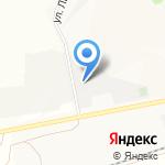 Автомарка на карте Барнаула