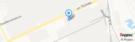 ЭнергоПорт на карте Барнаула