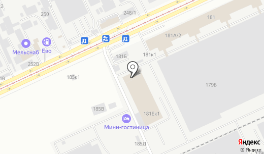 ПОЛИХИМ. Схема проезда в Барнауле
