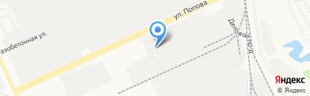 Большой ООО магазин запчастей для китайской техники Howo Shacman-Shaanxi на карте Барнаула