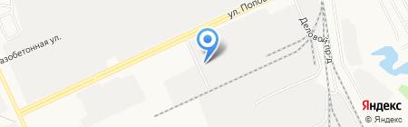 Техсервис на карте Барнаула
