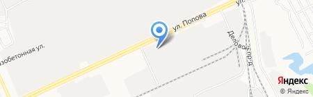 Душевная на карте Барнаула