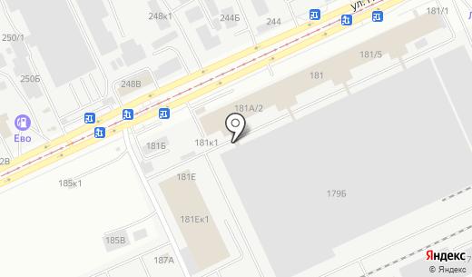 Айрон-Системс. Схема проезда в Барнауле