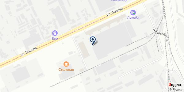 Алтайский Оптовый Центр на карте Барнауле