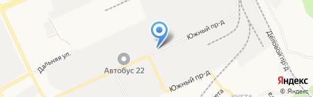 ТОРГШИНА на карте Барнаула