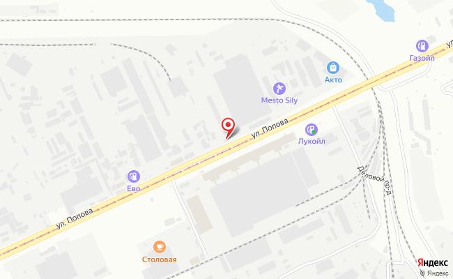 Карта расположения пункта доставки DPD Pickup в городе Барнаул