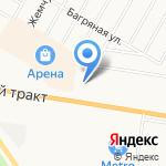 Flop Shop на карте Барнаула