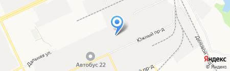 ЗИЛ-Гарант на карте Барнаула