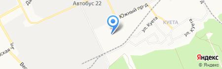 Санг-Алтай на карте Барнаула
