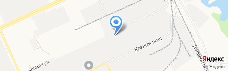 Рускит на карте Барнаула