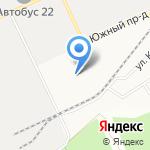 Петит на карте Барнаула