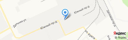 Алтайавтогруз на карте Барнаула