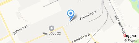 Росагроснаб-Алтай на карте Барнаула