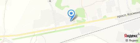 Дом траурных обрядов на карте Барнаула