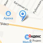 Газпромнефть-Новосибирск на карте Барнаула