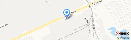 Байк-Ленд на карте Барнаула