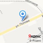 Энергия-Транзит на карте Барнаула