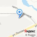 Прибой на карте Барнаула