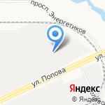 Гамма на карте Барнаула